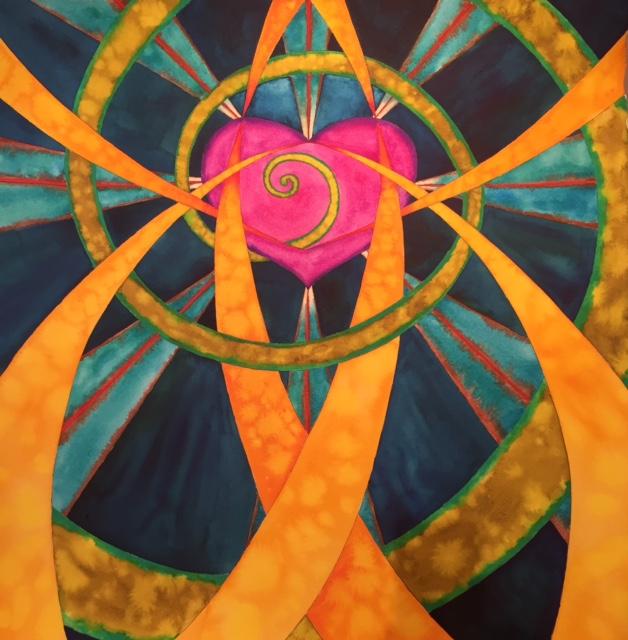 Heart Activation Mandala 2