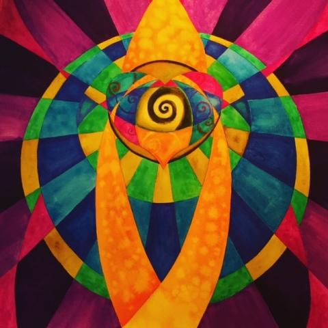 Heart Activation Mandala