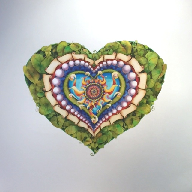 Heart and Soul with leaves